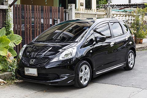 Honda Jazz 2011 Black 1.5 i-vtec