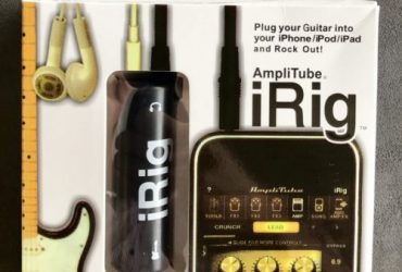 IK Multimedia Amplitube iRig for guitar and bass
