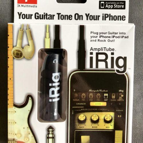 IK Multimedia Amplitube iRig for guitar and bass
