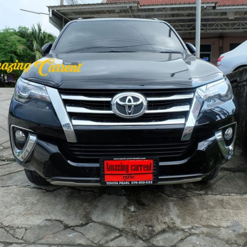 Cheap Phuket car rental | Toyota Fortuner for rent