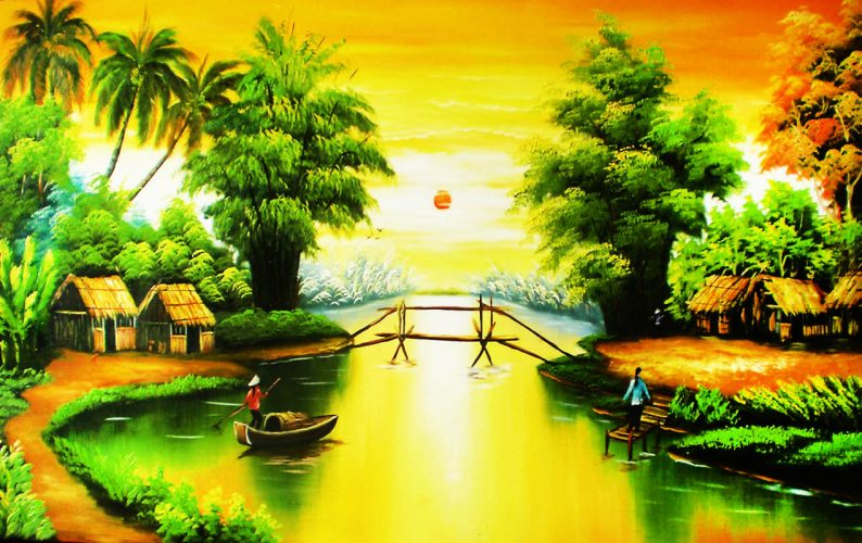 Custom Pro Oil Painting in Bangkok