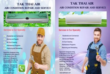 AIR CONDITIONING REPAIR AND SERVICE IN BANGKOK