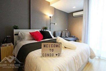 Beautifully-decorated 1-Bedroom Condo For Rent/Sale Near MRT Ratchada