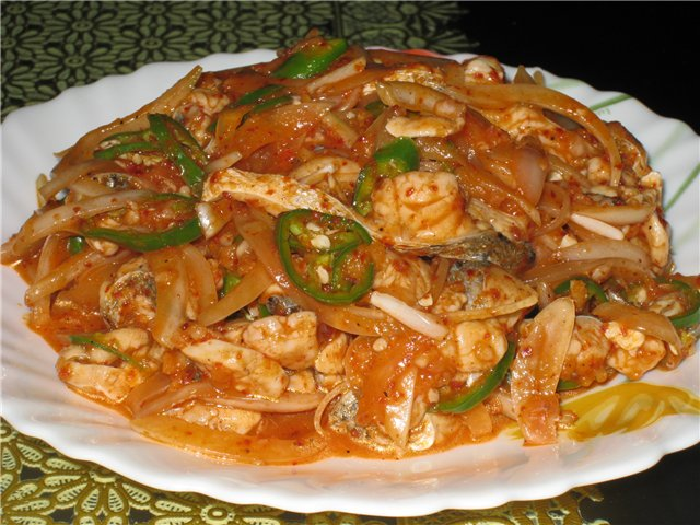 Tasty international food in Pattaya