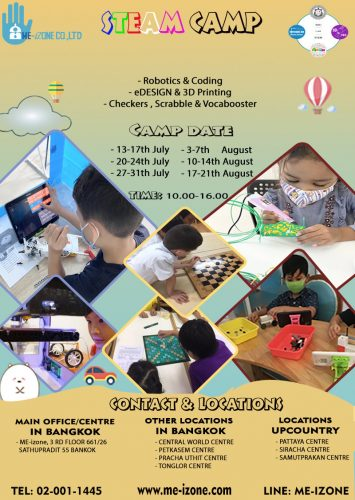 STEAM CAMP FOR KIDS