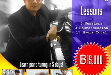 5 Days Piano Tuning Lessons